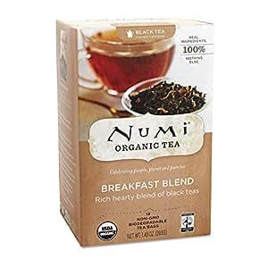 NUMI Organic Tea NUM10220 Black Tea- Organic- Breakfast Blend