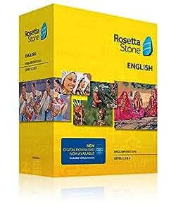 Rosetta Stone English (British) v4 TOTALe - Level 1, 2, 3 Set - PC/Mac