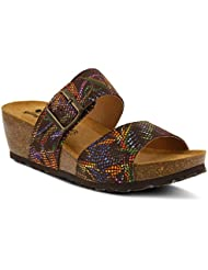 Spring Step Womens Style Barnabas Leather Slide Sandal
