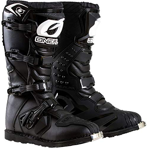 - O'Neal Boys New Logo Rider Boot (Black, Size 6)