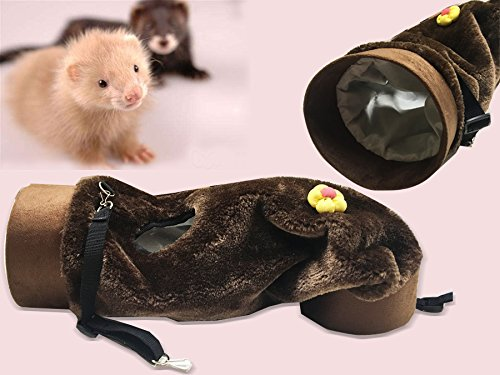 Ferret Guinea pig Young Rabbits Hanging Bed Fun Tunnel Toy House Hammock Hanging Play Tunnel