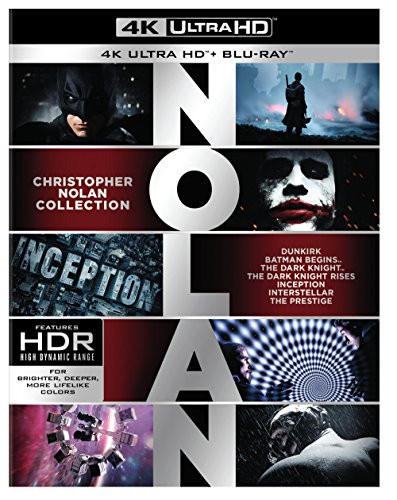 Christopher Nolan 4K Collection (4K Ultra HD) [Blu-ray] by WarnerBrothers