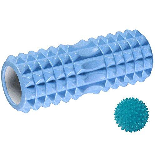 QIAN Colonne de bulle de détente axe Yoga musculaire masseur rouleau de galet de roulement