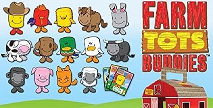 Amazon Com Set Of 14 Sonic 2012 Farm Buddies Tots 6 Wacky Pack