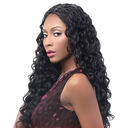 Harlem125 Synthetic Hair Braids Kima Braid Ocean Wave 20 (4-Pack, 1B) by Harlem 125 by Harlem 125 (Image #2)