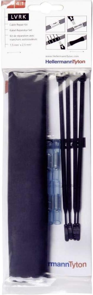 Ensemble de raccordement thermor/étractable avec /éclissages 6-24 mm HellermannTyton 380-04004 1 Set