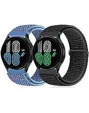 Runostrich Quick Release 20 mm armband nylonrem kompatibel med Galaxy Watch 3 41 mm/Samsung Galaxy Watch 42 mm/Active2 44 mm 40 mm/Gear sport ersättning sport armband män kvinnor