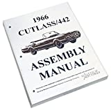 1966 Oldsmobile Cutlass 442 F85 Factory Assembly Rebuild Instruction Manual Book