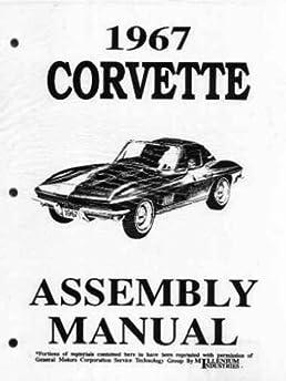 1967 corvette factory assembly manual chevrolet motor division rh amazon com Alfa Remeo Service Repair Manuals Honda Service Repair Manual