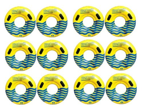 12 NEW Swimline 17035ST Swimming Pool River Rough 48'' Heavy Duty Floating Tubes by Swimline (Image #4)