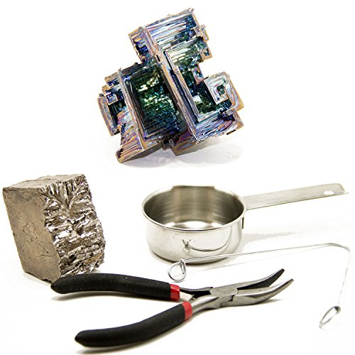 Kitables Bismuth Crystal Grow Kit - Grow Your Own Bismuth Crystals At Home Or In The Classroom