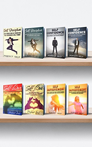 Self Help: 8 Books: Daily Habits & The 30 Day Challenge for Self Discipline, Self Confidence, Self Love & Self Improvement (Self Development,Self Discipline,Self ... Help Books,Self Development Books Book)
