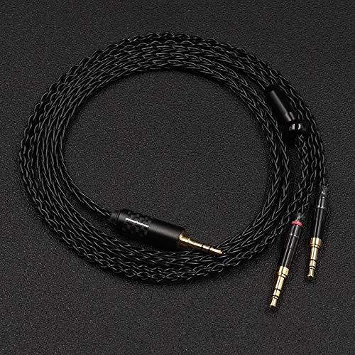 [해외]Gotor 무역 균형 케이블 T5p 2ndT1 2ndHA-SW02HA-SW01 헤드폰 해당 케이블 헤드폰 リケ?ブル 4.4 MM5 극 균형 블랙 / Gotor Replacement Balance Cable T5p 2ndT1 2ndHA-SW02HA-SW01 Headphone Compatible Cable Headphone Recable 4.4MM5 Pole Bala...