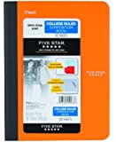 Five Star Poly Comp Book w Pockets 100 CT, 9 3/4 X 7 1/2