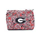Viva Designs University of Georgia Bulldogs Mini Duffle Bag
