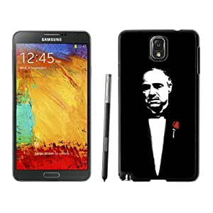 Unique And Antiskid Designed Cover Case For Samsung Galaxy Note 3 N900A N900V N900P N900T With Godfather Black Phone Case