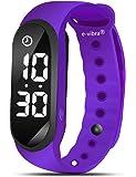 e-vibra Premium Potty Training Watch - Water Resistant Vibrating Alarm Reminder Watch Baby Toilet Potty Training Countdown Timer for Girls/Boys (Purple)