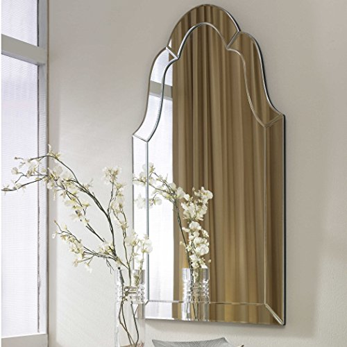 Hovan Frameless Arched Mirror
