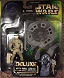 Qiyun Star Wars POTF Rebel Hoth Soldier Deluxe Action Figure Power of The Force Troop