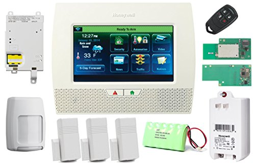 Honeywell Wireless Lynx Touch L7000 Home Automation/Security Alarm Kit with Wifi, Zwave & GSM Module (Lynx Wireless)