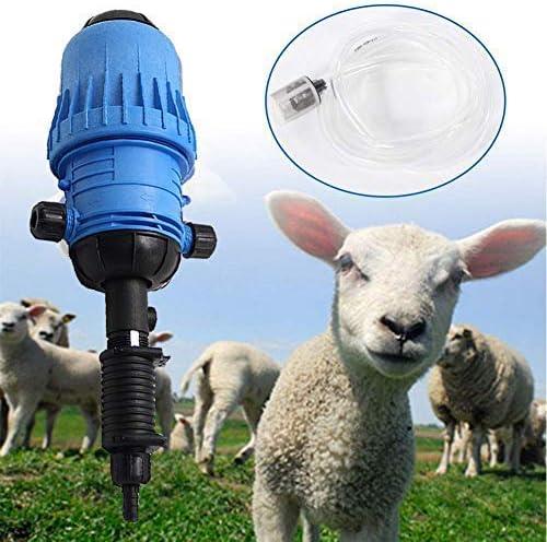 Wamerry Dispensador de Fertilizantes Rango 0.4-4/% 25 mm Inyector de dosificaci/ón autom/ática para Fertilizantes l/íquidos qu/ímicos Jard/ín Industrial Dispositivo de dispensaci/ón accionado por Agua