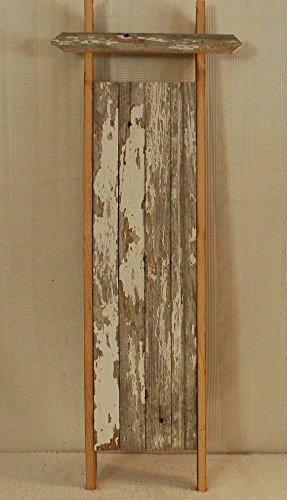 Amish Handcrafted Barnwood Sled. This Sled Is Made From 100 Year Old Weathered Barnwood. This Sled Is a Great Additon to Any Primitive Country Decor.