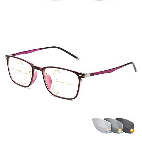 Gafas de Lectura fotocromáticas de Estilo Joven, Gafas de ...