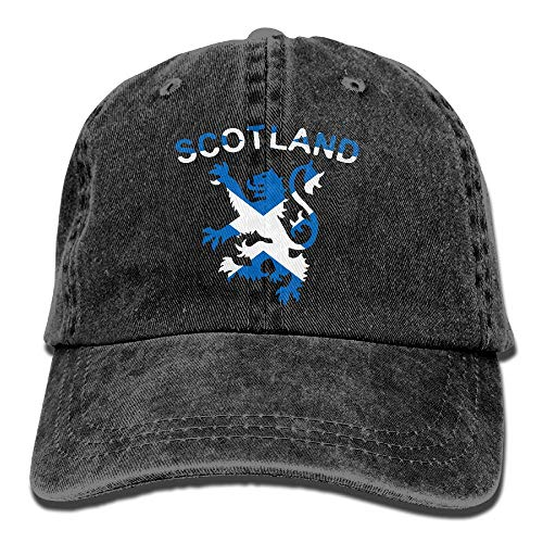- Re&Tro Men Women Lion Rampant Scotland Scottish Adjustable Jeans Baseball Cap Trucker Hat