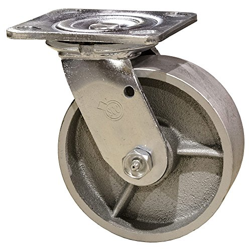 4 inch cast iron casters - 9