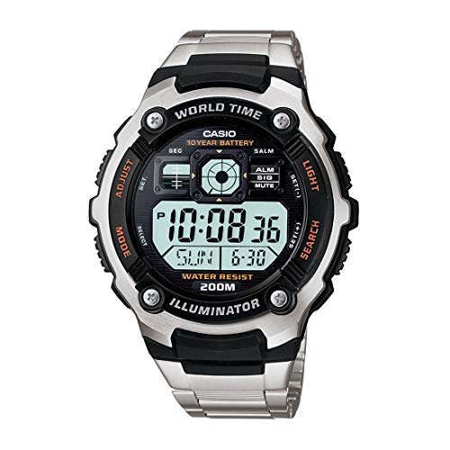 Casio AE-2000WD-1A For Boys-Digital, Sport Watch