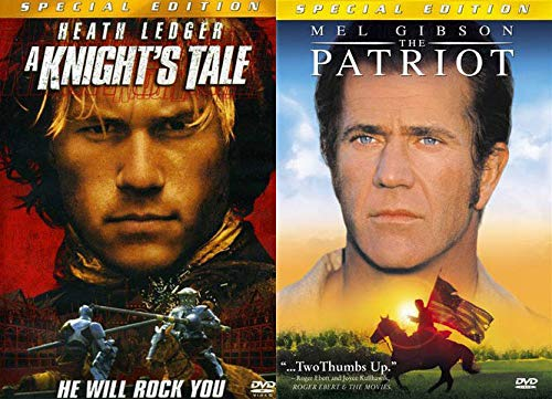 The Heath Ledger Action Collection: The Patriot (Special Edition) & A Knight's Tale (Special Edition) (DVD Bundle/ 2 Feature Films)