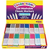 Colorations Washable Classic Markers Classroom Pack - Set of 256 (Item # 98256)