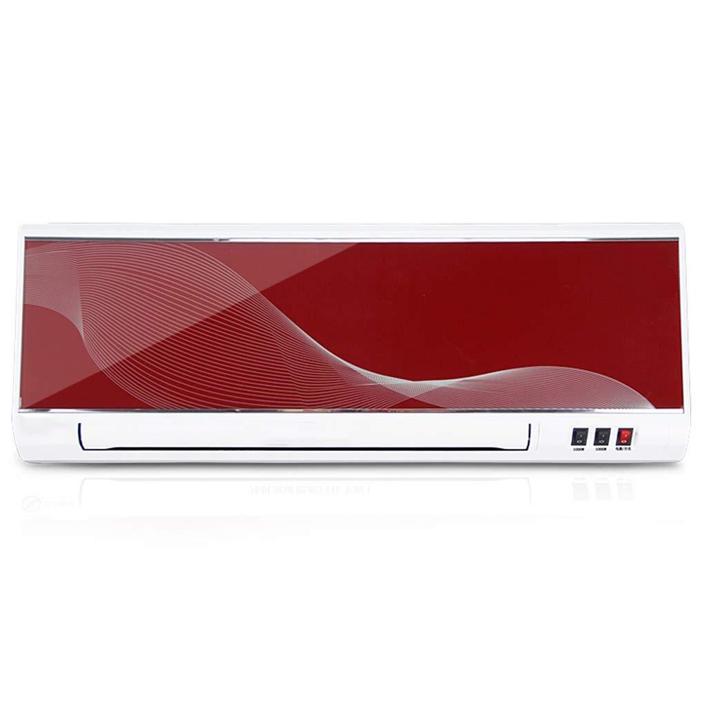Acquisto Riscaldatore a Muro riscaldatore Elettrico a Parete Fast Heater Bagno Doppio Uso Aria condizionata Ventilatore Piccolo Aria condizionata, Rosso Prezzi offerte