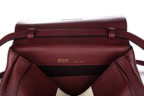 Bally sac à main femme en cuir b turn xs rouge