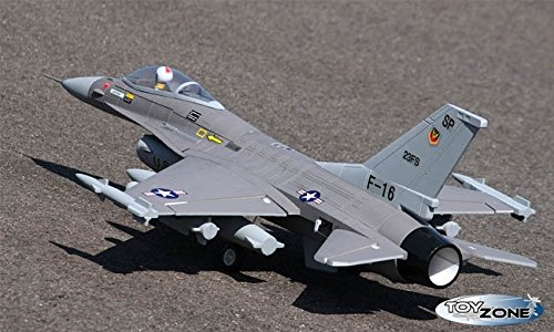 RC-Avin-Teledirigido-F-16-Fighter-Brushless-111-V-24-GHz-100-KMH-Planeador-1100-mm-RTF