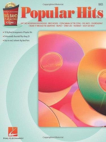 Download Popular Hits - Bass: Big Band Play-Along Volume 2 (Hal Leonard Big Band Play-Along) PDF
