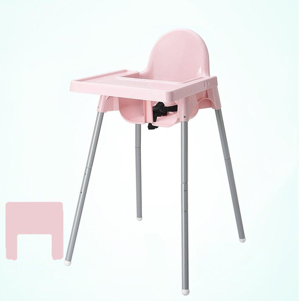 TLMY 赤ちゃんダイニングチェア子供のテーブルチェアー食べるプラスチック製のBBスツール高いポータブルベビーダイニングチェアシート 子供用折りたたみチェア   B07GJDBDKH