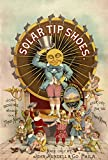 historic pictoric Vintage Advertisement, John Mundell & Co's Solar Tip Shoes, c1889, 16x24in