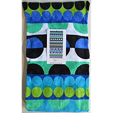 Spring/Summer 2016 Mainstays Beach Towel - 27 x 60 (Stripe Dot Cool)