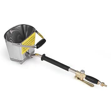 KKmoon Rociador de mortero portátil neumático de la pared Rociador de cemento Pistola de enyesado del mortero: Amazon.es: Bricolaje y herramientas