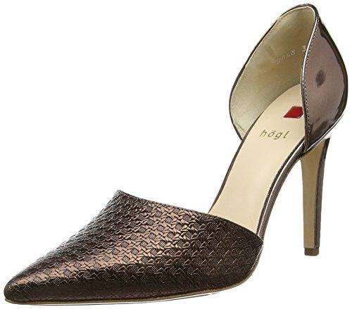 Högl1- 10 9048 - Zapatos de Tacón Mujer Marrón (7000)