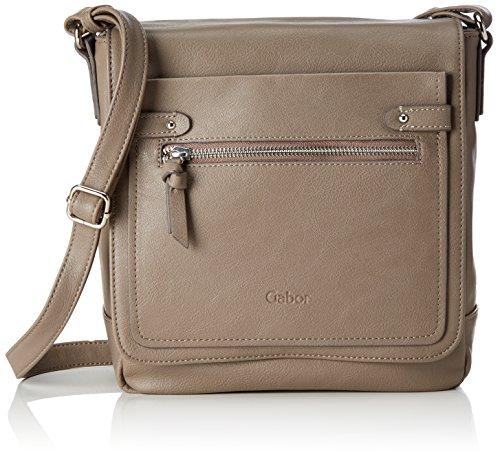 Gabor Women's Mari Cross-Body Bag Grey (Taupe 21)