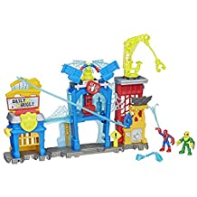 Playskool Heroes Marvel Super Hero Adventures Spider-Man Web-Quarters