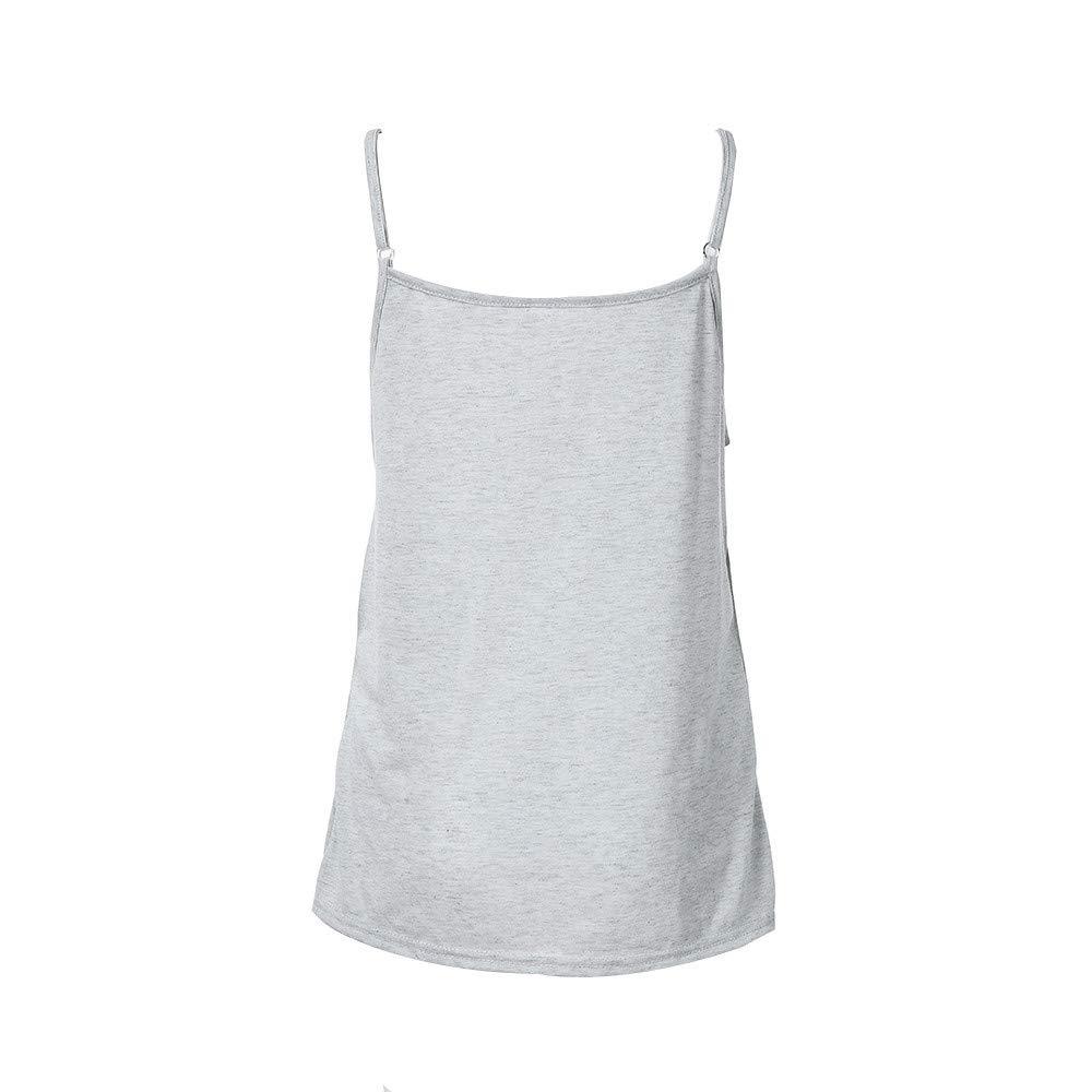 Ropa de Maternidad Maternidad Lactancia Camiseta para Mujeres Blusa de Doble Capa Camiseta Suelta Embarazo Enfermer/ía Tops Camisa sin Mangas Chaleco Lactancia Lonshell