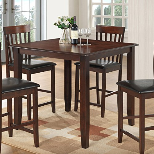 Best Quality Furniture D420T Dining Table Set Dinining, Cappuccino