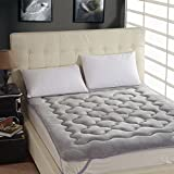 DHWJ Thick Coral Velvet Mattress,Single Double Bed Mattress,Student Dormitory mattresses-A Queen1