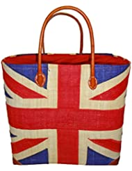 English Market Tote Bag, Handmade, From Madagascar