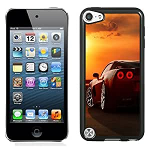 Lovely and Durable Cell Phone Case Design with Ferrari Tail Lights Sunset Birds iPod Touch 5 Wallpaper