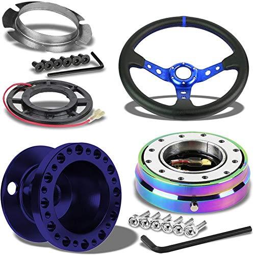 Momo 3 To 6 Hole Car//Vehicle Steering Wheel Boss Multi Drilled Adaptor