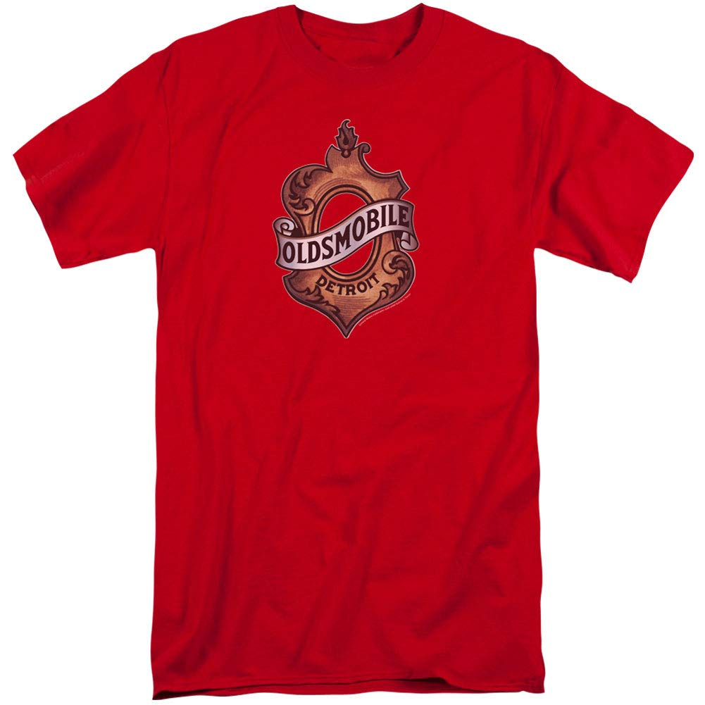 Oldsmobile DETROIT EMBLEM Licensed Adult T-Shirt All Sizes